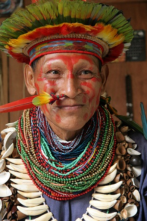 Shaman Ecuador Amazon
