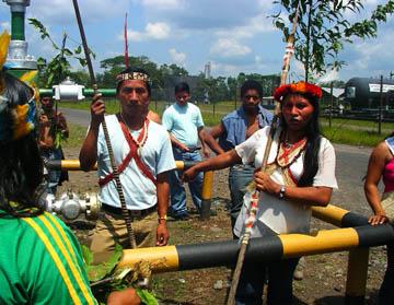 oil ecuador tribes